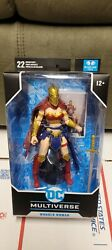 Wonder Woman With Helmet Of Fate - Dc Multiverse 7 Action Figure Mcfarlane Toys