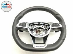 2016-2018 Mercedes C63 Amg W205 Left Driver Steering Wheel W/ Switch Button Oem