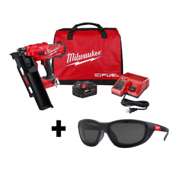 Milwaukee Fraiming Nailer 3-1/2 In. 18v 2 Ah Battery/charger Included Cordless
