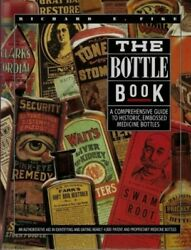 Historic Embossed Medicine Bottle Book Id Date Guide Clr Bw Richard Fike Signed
