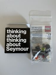 Lego Seymour Papert Exclusive Minifigure Super Rare Sdcc Nycc Htf With Box