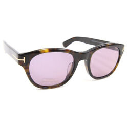 Tom Ford Sunglasses O'keefe Tf530 Brown Marble Clear Purple Secondhand Eyewear