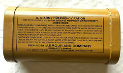 Us Army 1906 Pattern Emergency Ration Can
