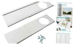 Window Seal Plates Kit For Portable Air Conditioners Plastic 14cm-fits 6 Dia