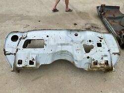 1970 Lemans Gto Convertible Steel Front End Cowl Dash Heater Window Section