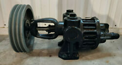 1 Used Roper 2f 50 Gear Pump Type 27 W/ 3-groove Pulley Make Offer