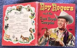1952 Whitman Book 15c Roy Rogers And The Sure Nough Cowpoke 2567 No Name Or Marks