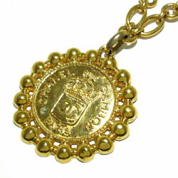 Sale Previously Owned Necklace Rue Cambon Gold Metal Material No.5499
