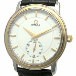 Mens Previously Owned Omega Devil Prestige Hand-wound Combination Yg Ss No.3963
