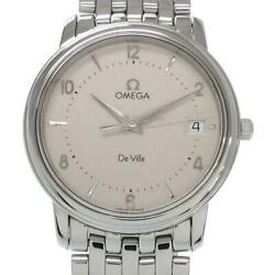 Omega Devil Prestige 35mm 4510.30 Mens Wristwatch Rank Previously Owned No.4038