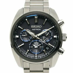 Previously Owned Seiko Astron Sbxc053 Menand039s Watches Chronograph Ss No.5854