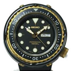 Previously Owned Seiko Professional Divers 1000m 7c46-7008 Wristwatch No.5864
