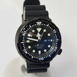Previously Owned Seiko Diver's Watch Marine Watches 300m 7c46-0ag0 Mens No.6122