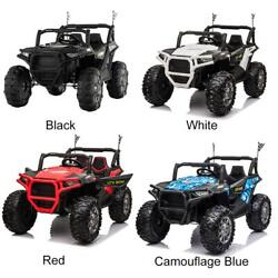 12v Kids Ride On Toy Electric Battery Powered Off-road Truck 2-seats Remote