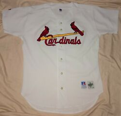 Authentic Mlb Jersey St Louis Cardinals Vintage Russell Athletic Home Blank Vtg