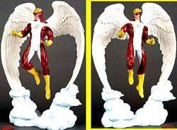 ANGEL RED STATUE BY HARD HERO SCULPTED BY SETH VANDABLE