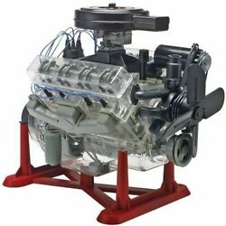 Revell Visible V-8 Engine 14 Scale With Moving Pistons And Crank Model Kit New