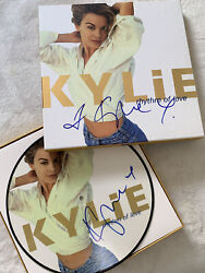 Kylie Minogue Signed - Rhythm Of Love Deluxe Edition Box Set Rare Autograph