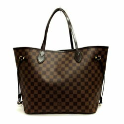 Louis Vuitton Neverfulle Mm N51105 Damier Women And039s Handbag Previously No.1813
