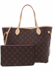 Louis Vuitton Monogram Neverfulle Mm M41178 Women And039s Tote Bag Week No.1957