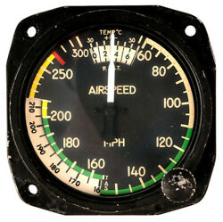 Cessna/united Instruments Airspeed Indicator Core P/n 8130