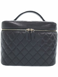 Gold Fittings Matelasse Vanity Bag A80913 Women And039s Cosmetic Case No.7903