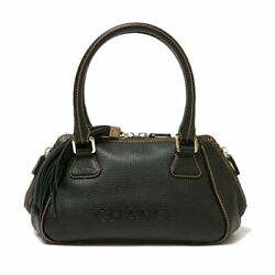 Sale  Handbag Black Women 's Previously Owned From Japan Fedex No.8494