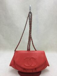 Previously Owned Chain Wallet Mini Shoulder Bag Caviar Skin No.9357