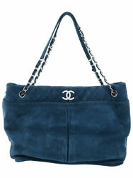 Silver Fittings Coco Mark Chain Tote Bag A65478 Women 's Week No.9314