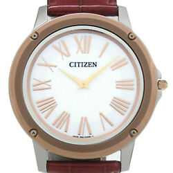 2020 January Purchases Citizen Eco One Solar Eg900400a Department No.8259