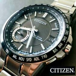 Sale Citizen Eco Radio Wave Solar Menand039s Watches From Japan Fedex No.223