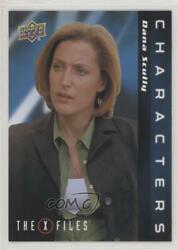 2019 Upper Deck X-files Ufos And Aliens Characters Dana Scully C-21 O1h