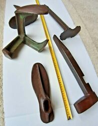 Antique Cobblers Tools-set Of 35pcs-authentic Old Hand Tools In Great Condition