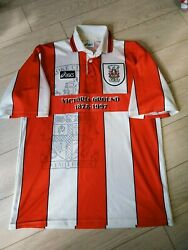Stoke City Football Jersey Home Shirt 1995-1996 Victoria Ground Size L