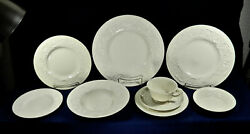 58-pce Set Or Less Of Antique Wedgwood Patrician Pattern Circa 1929 China