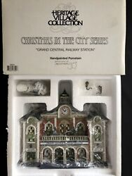 Dept 56 Cic Heritage Christmas In The City Grand Central Railway Station 58881
