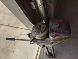 Neptune 1.7 Hp Mighty Might Outboard 1957 Complete Runs Great Wall Hanger