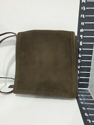 Coach womens green suede over the shoulder bag size med $41.65