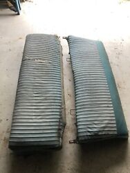 1961 1962 1963 1964 Chevy Impala Biscayne Bel Air Rear Seat W/ Out Speaker Oem
