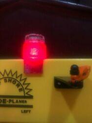 Planer Board Lights. Red And Green Includes Twist On Off Led Lights W/batteries