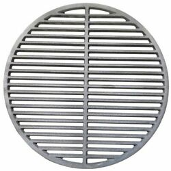 Replacement 18 Inch Cast Iron Cooking Grill Grate For Big Green Egg And Kamado Joe