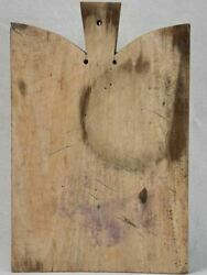 Antique French Beech-wood Cutting Board 11½ X 17¼