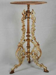 Cast Iron English Garden Table / Plant Stand