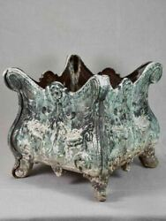 Antique French Cast Iron Planter - Alfred Corneau Charleville 14andfrac14