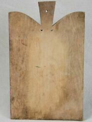 Antique French Cutting Board With Round Shoulders 10¼ X 16½