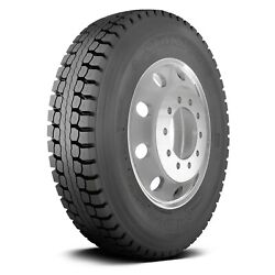Sumitomo Set Of 4 Tires 285/75r24.5 L St908 All Season / Commercial Hd