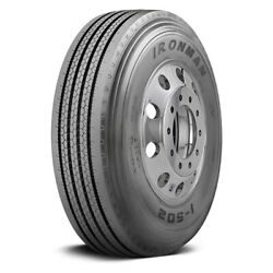 Ironman Set Of 4 Tires 285/75r24.5 L I-502 All Season / Commercial Hd
