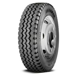 Ironman Set Of 4 Tires 41x11r22.5 M I-301 All Season / Commercial Hd