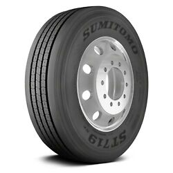 Sumitomo Set Of 4 Tires 42x11r22.5 L St719se All Season / Commercial Hd