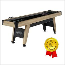 Shuffleboard Table 9 Ft Family Style Home Living Room Indoor Game Play Sport New